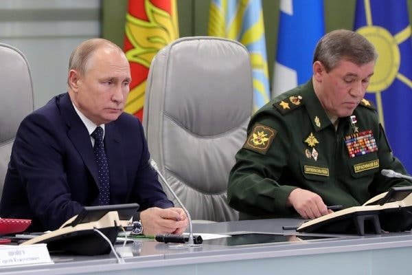 Photo New Russian mil Doctrine- Jan. 2020
